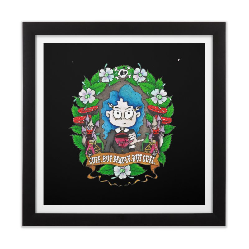 Cute but Deadly. But Cute.  Home Framed Fine Art Print by ink'd