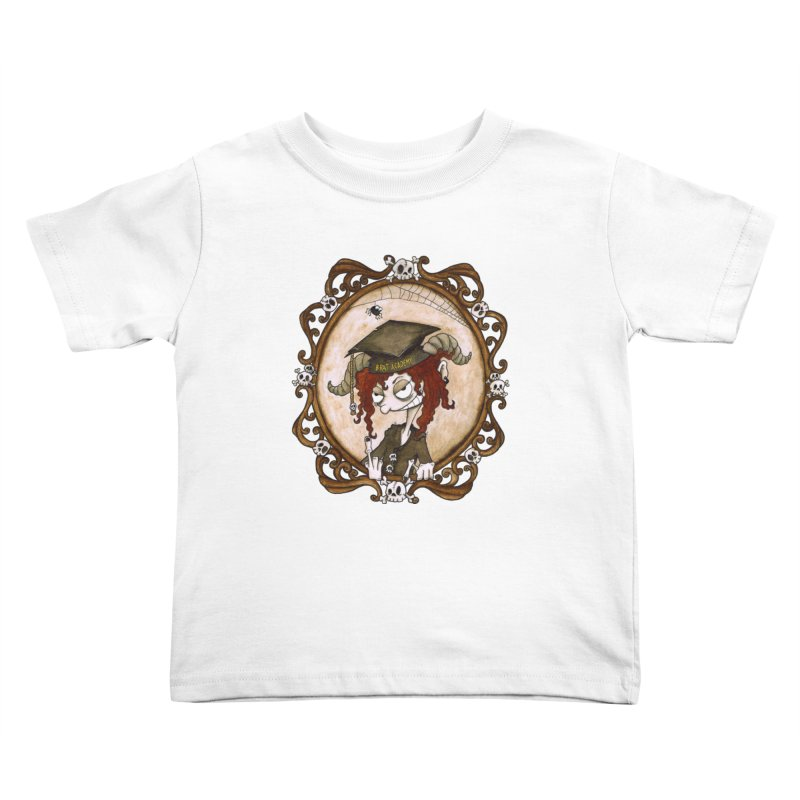 Brat Academy Kids Toddler T-Shirt by theinkedskull