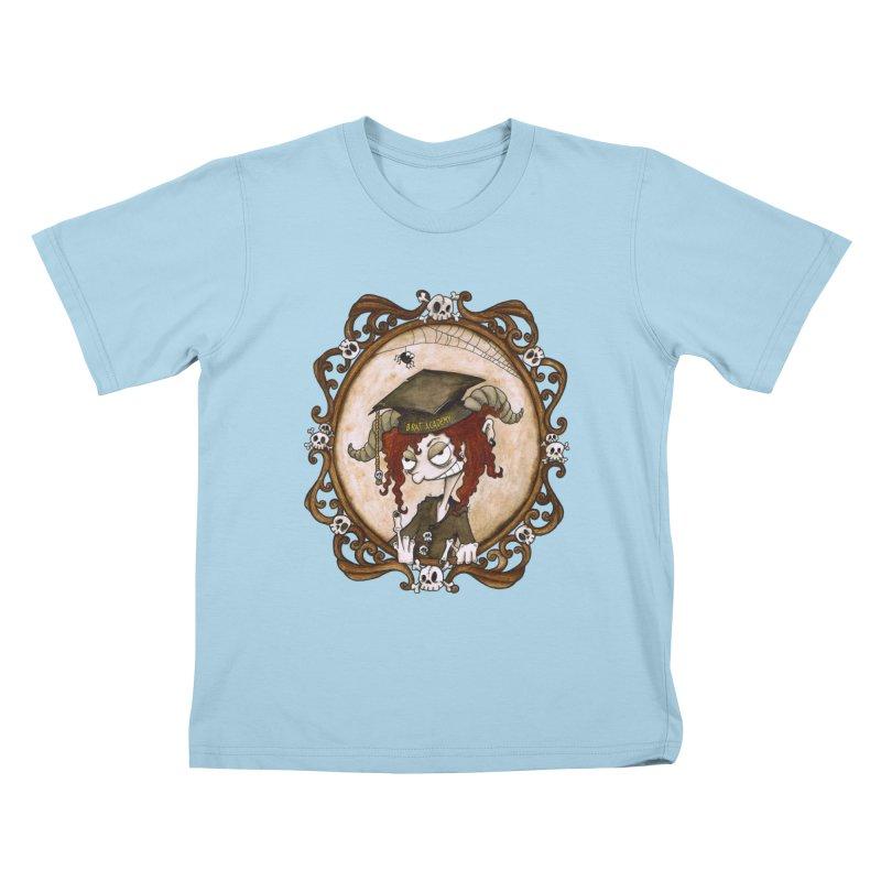 Brat Academy Kids T-Shirt by ink'd