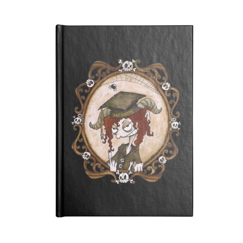 Brat Academy Accessories Notebook by theinkedskull