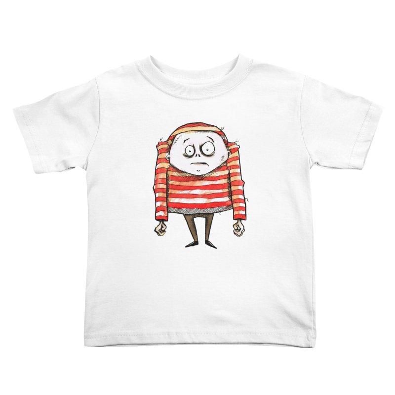 Weirdo Kids Toddler T-Shirt by theinkedskull