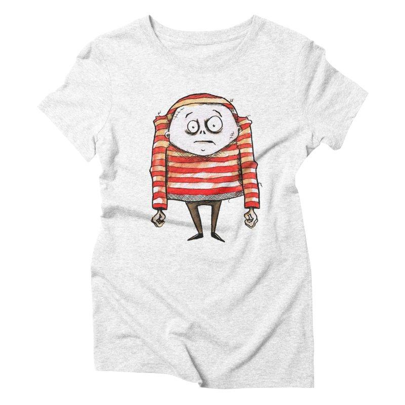 Weirdo Women's Triblend T-shirt by theinkedskull