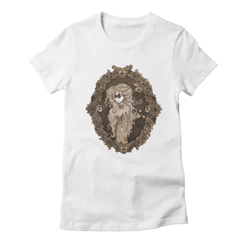 Lenore Women's Fitted T-Shirt by theinkedskull