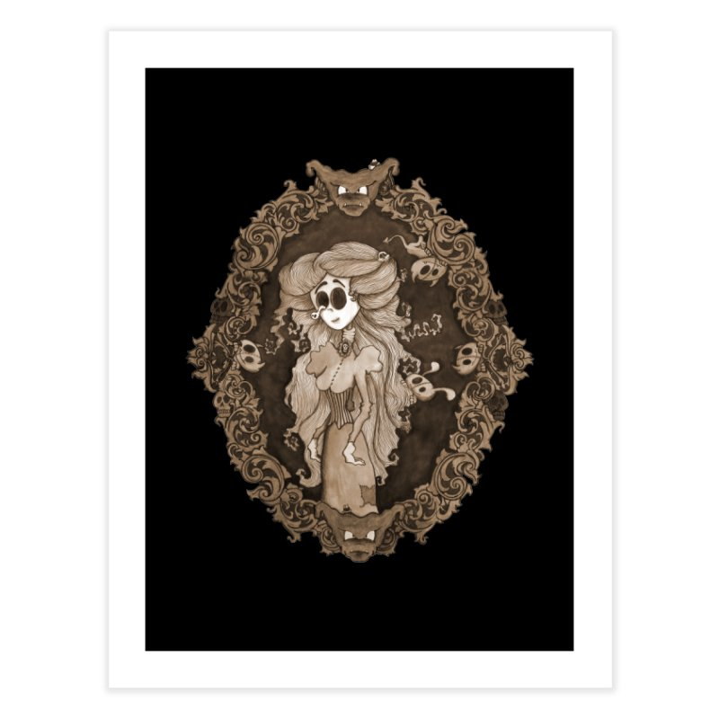 Lenore Home Fine Art Print by ink'd
