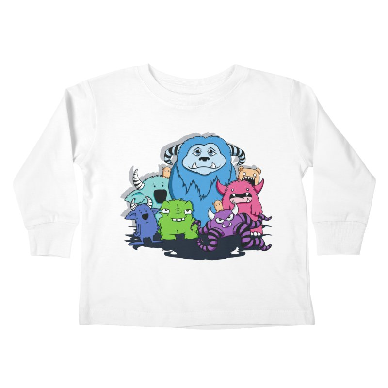Consumed Kids Toddler Longsleeve T-Shirt by theinkedskull
