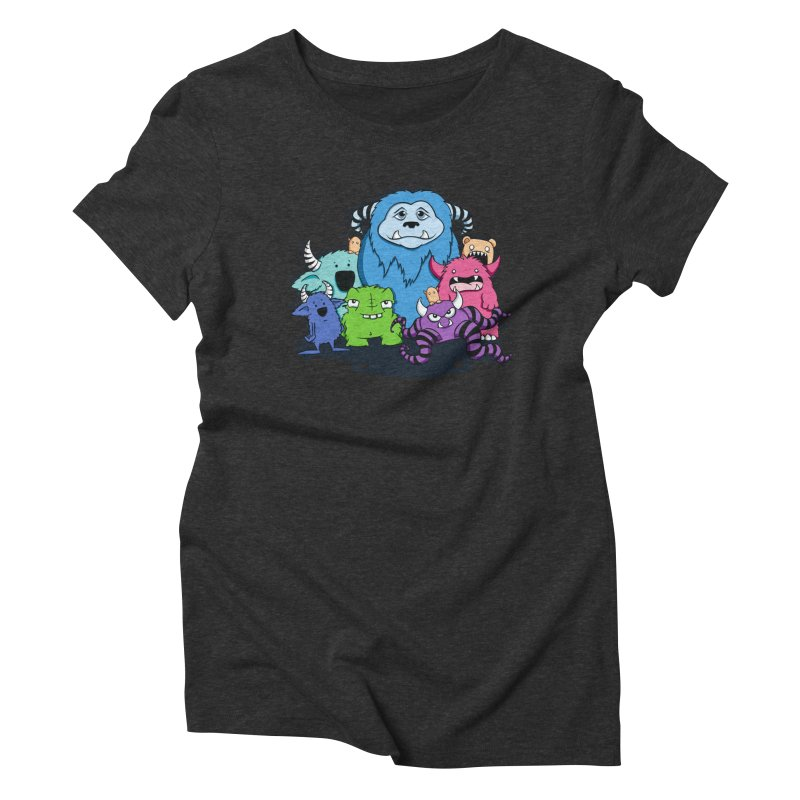 Consumed Women's Triblend T-Shirt by ink'd