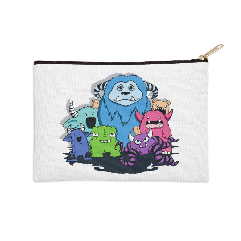 Consumed Accessories Zip Pouch by ink'd