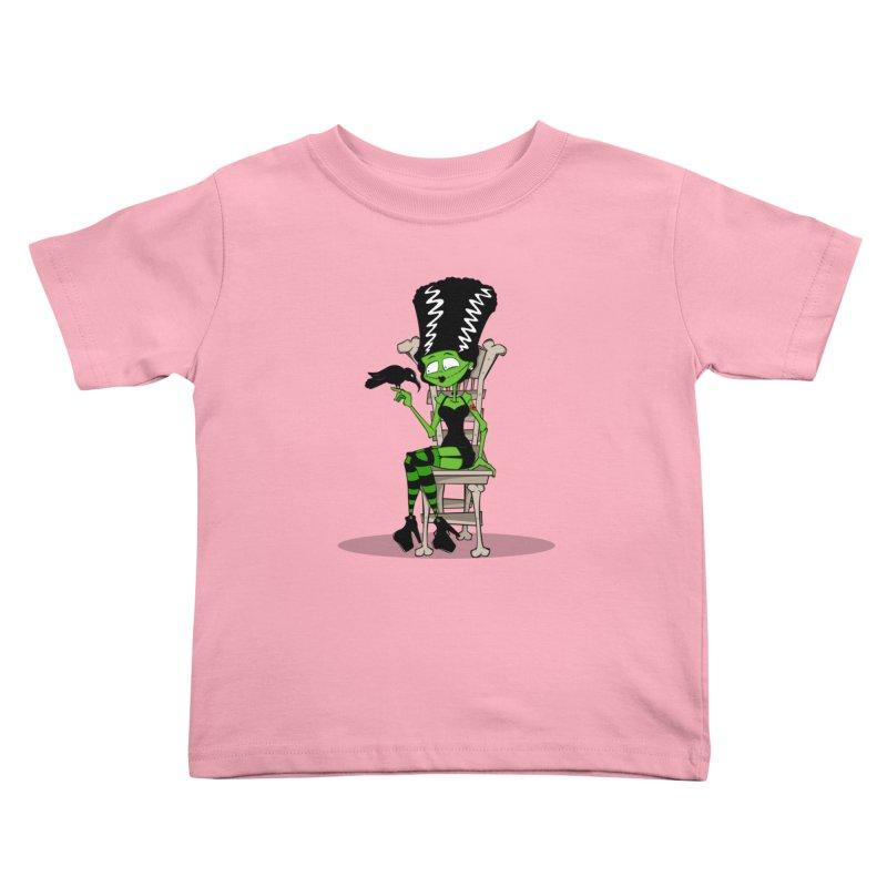 Mrs. Stein Kids Toddler T-Shirt by theinkedskull