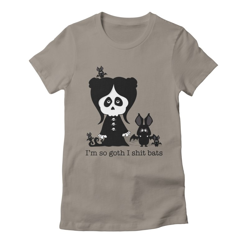 I'm so goth ... Women's Fitted T-Shirt by ink'd