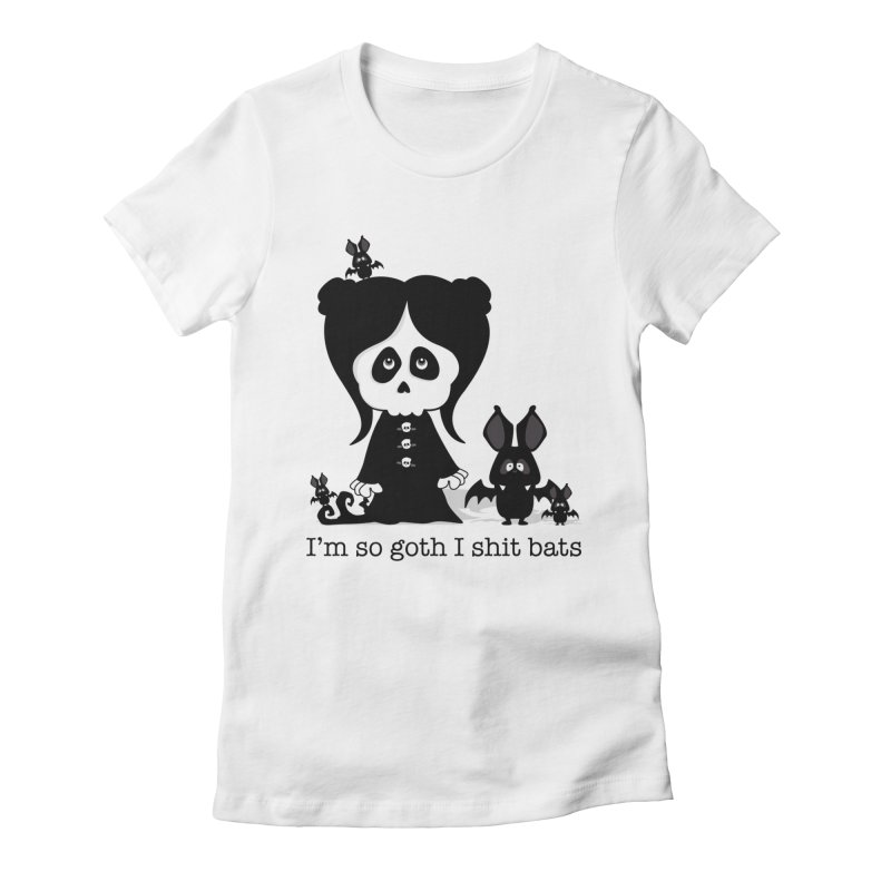 I'm so goth ... Women's Fitted T-Shirt by theinkedskull