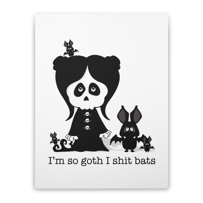 I'm so goth ... Home Stretched Canvas by ink'd