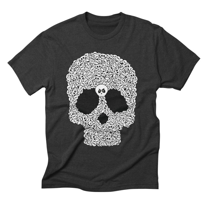 Bones Men's Triblend T-shirt by theinkedskull