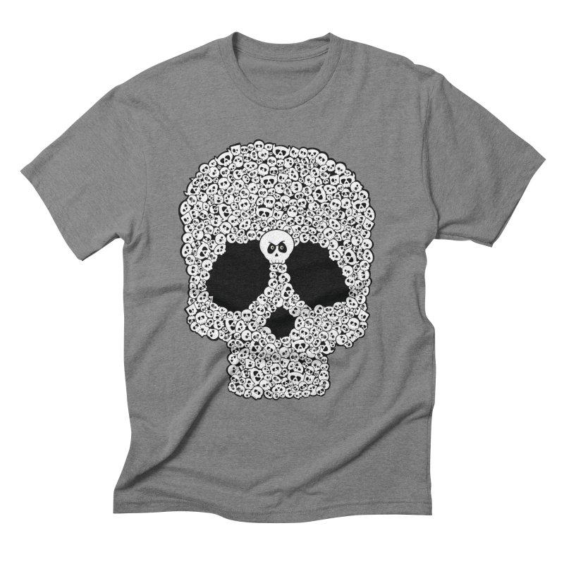Bones Men's Triblend T-shirt by theinkedskull