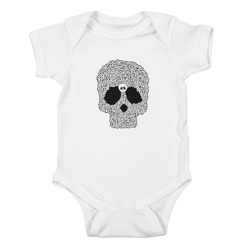 Bones Kids Baby Bodysuit by ink'd