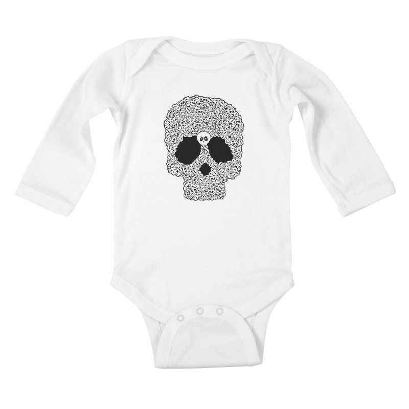 Bones Kids Baby Longsleeve Bodysuit by ink'd