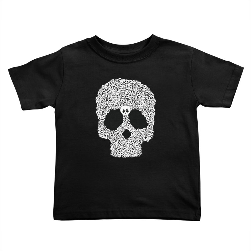 Bones Kids Toddler T-Shirt by ink'd