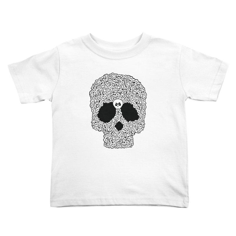Bones Kids Toddler T-Shirt by theinkedskull