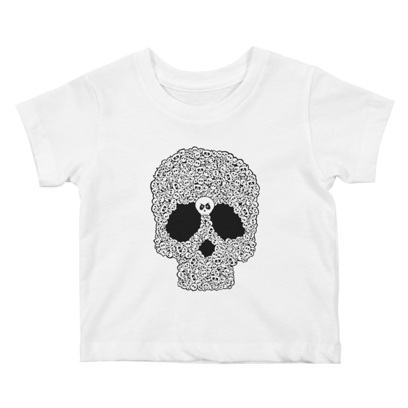 Bones Kids Baby T-Shirt by ink'd