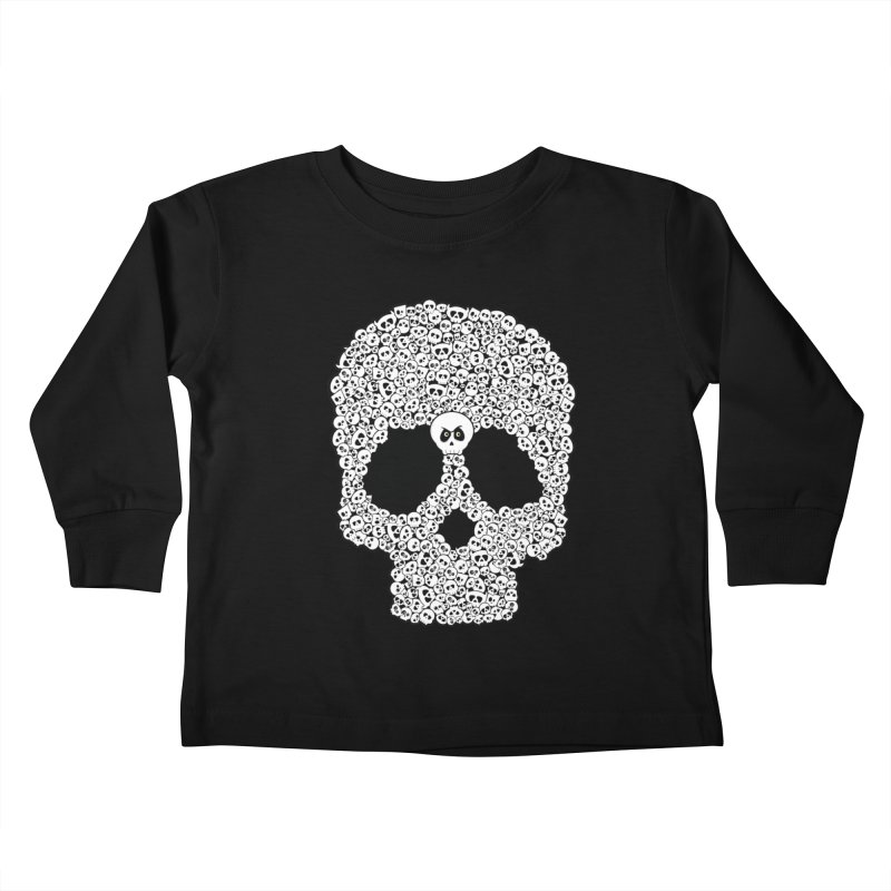 Bones Kids Toddler Longsleeve T-Shirt by theinkedskull