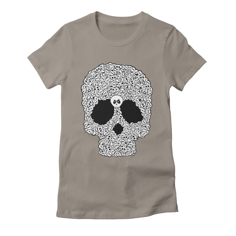 Bones Women's Fitted T-Shirt by ink'd