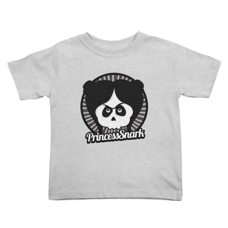 Princess Snark Kids Toddler T-Shirt by theinkedskull
