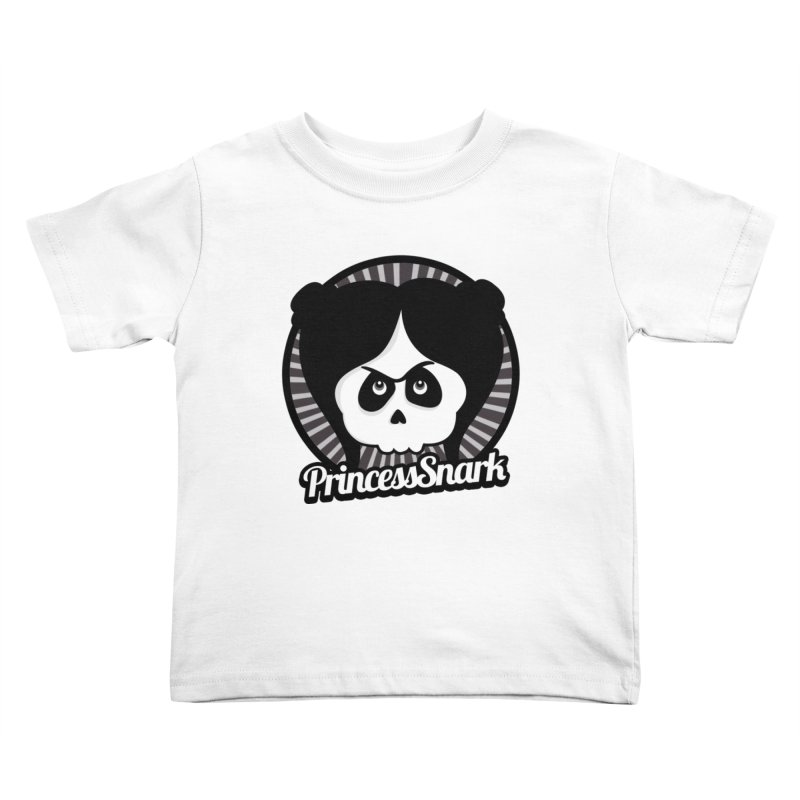 Princess Snark Kids Toddler T-Shirt by ink'd