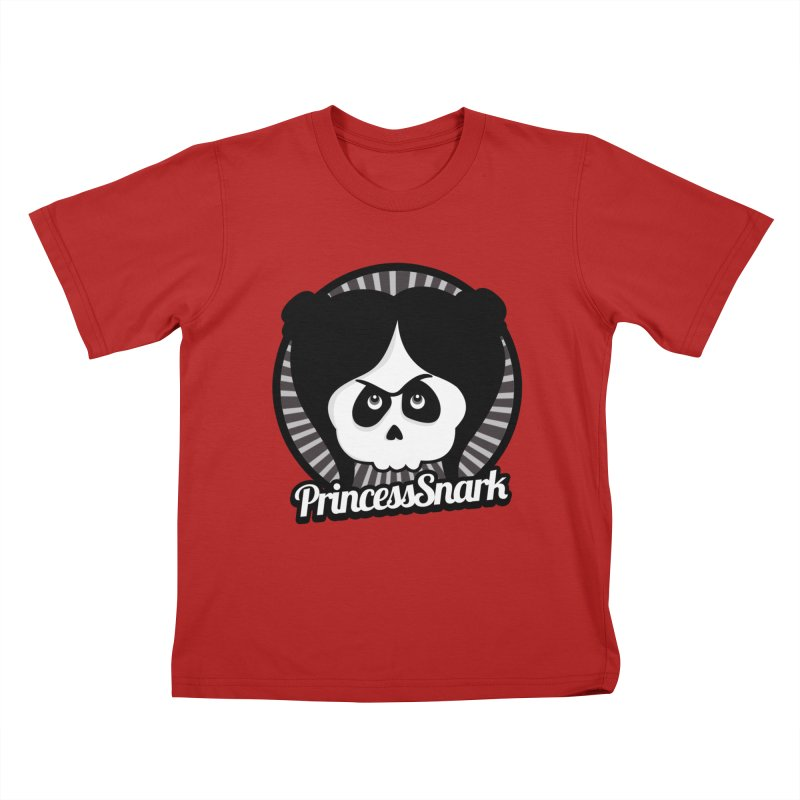 Princess Snark Kids T-shirt by theinkedskull