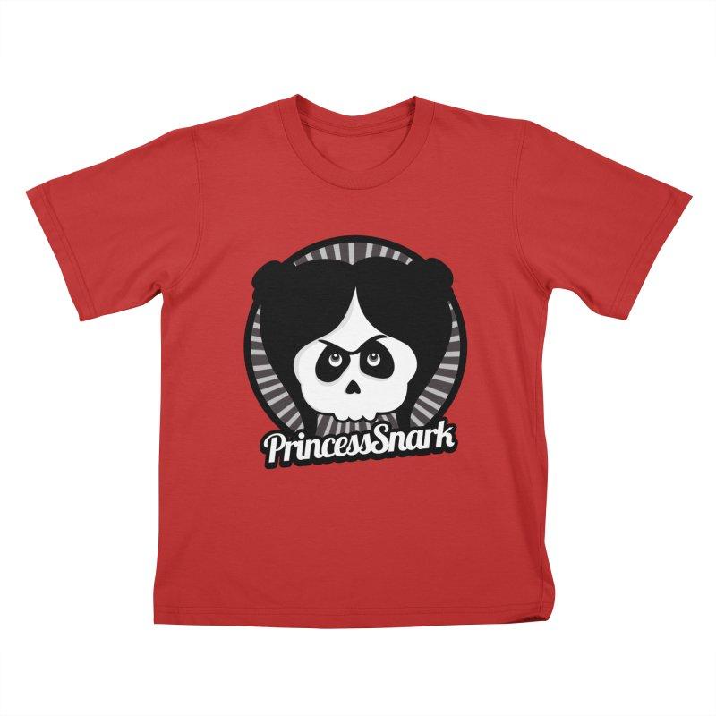 Princess Snark Kids T-Shirt by ink'd