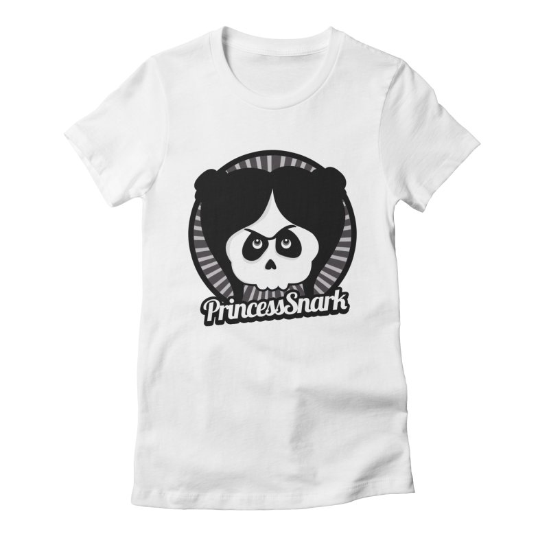 Princess Snark Women's Fitted T-Shirt by ink'd
