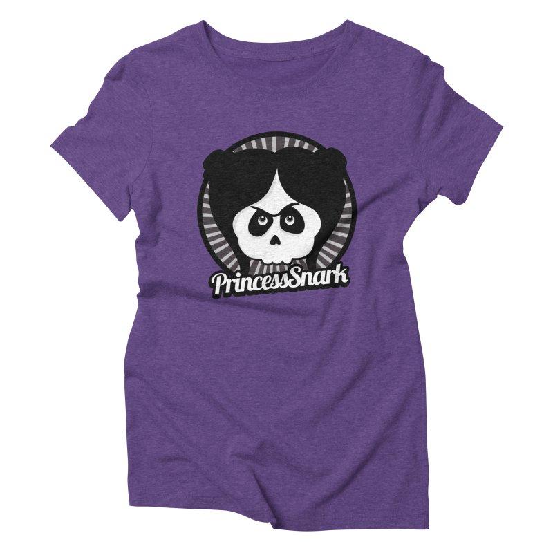 Princess Snark Women's Triblend T-Shirt by ink'd