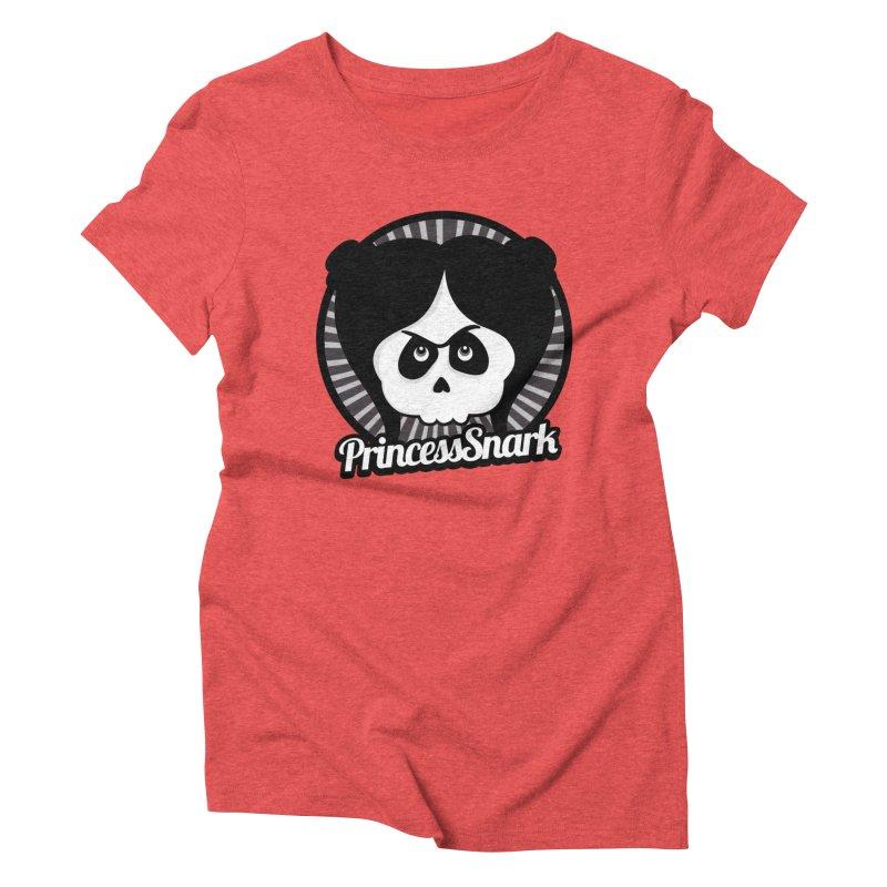 Princess Snark Women's Triblend T-shirt by theinkedskull
