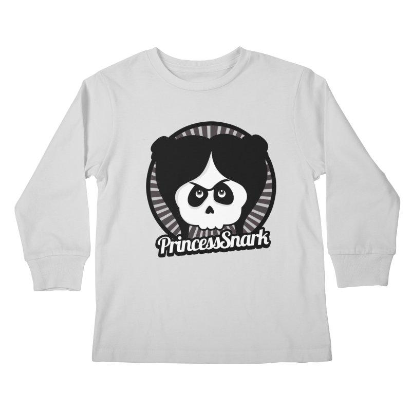 Princess Snark Kids Longsleeve T-Shirt by theinkedskull