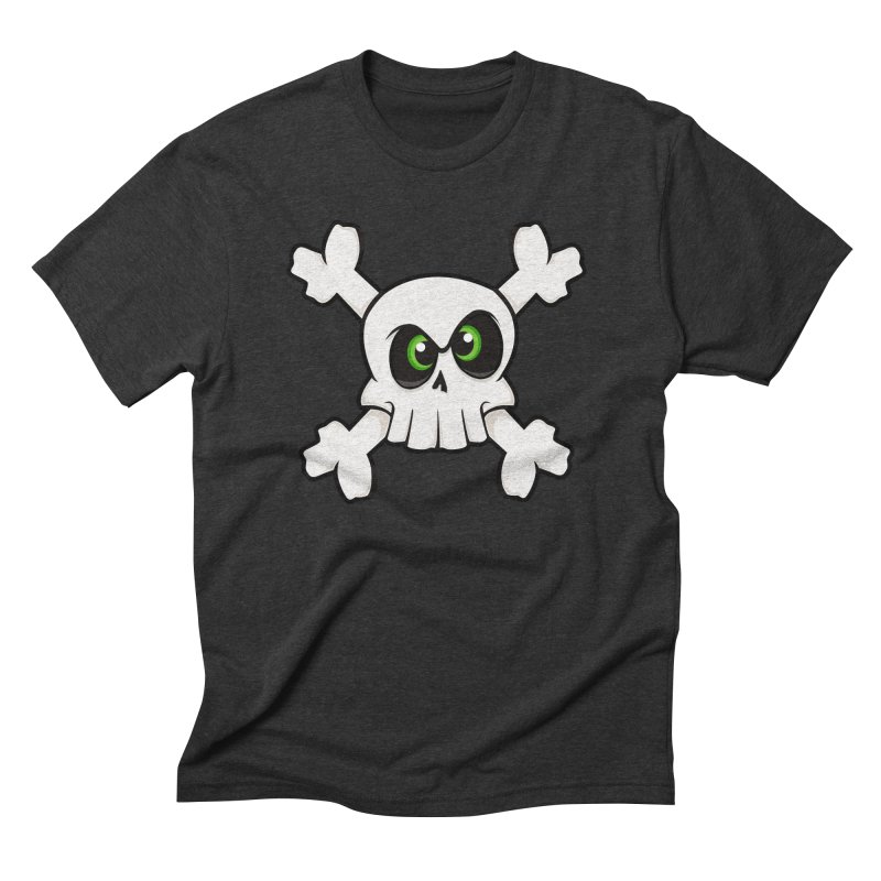Skullface Men's Triblend T-Shirt by ink'd