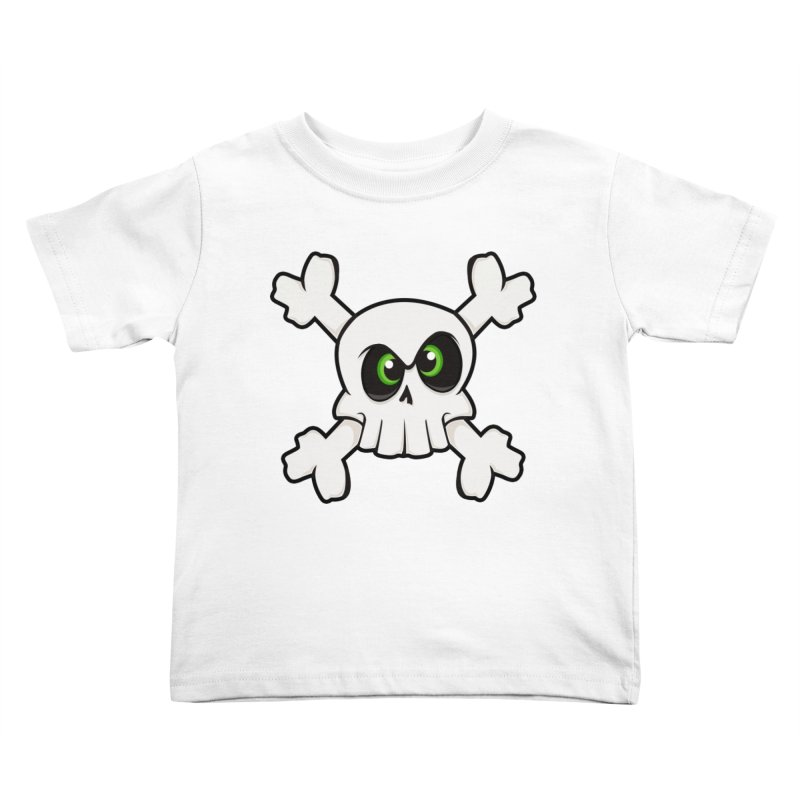 Skullface Kids Toddler T-Shirt by ink'd