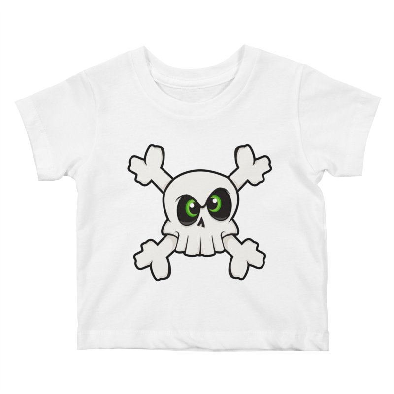 Skullface Kids Baby T-Shirt by ink'd