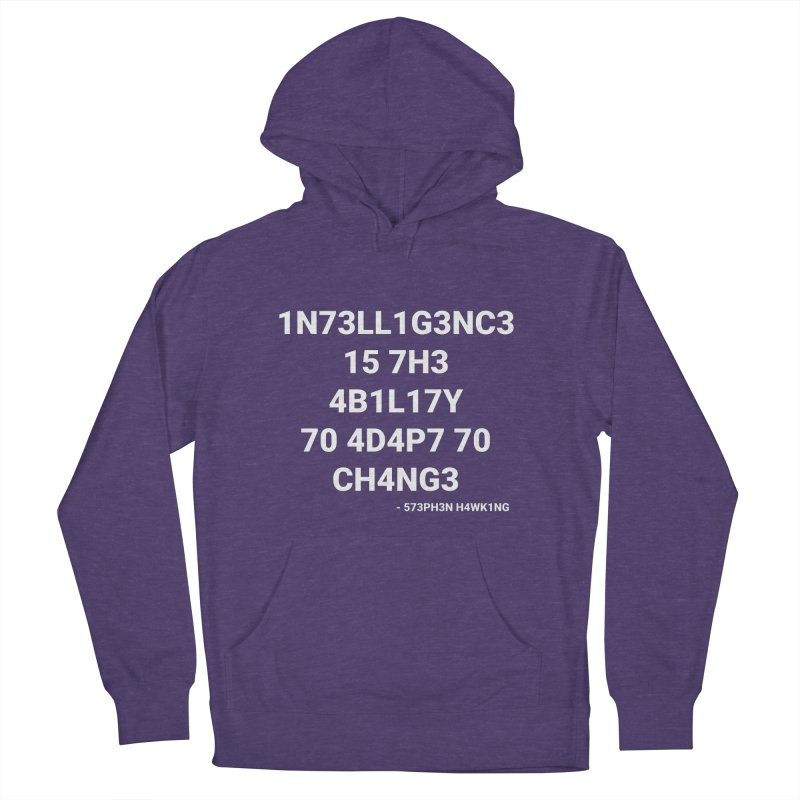 Stephen Hawking on Intelligence Women's Pullover Hoody by TheIToons Tshirt Shop
