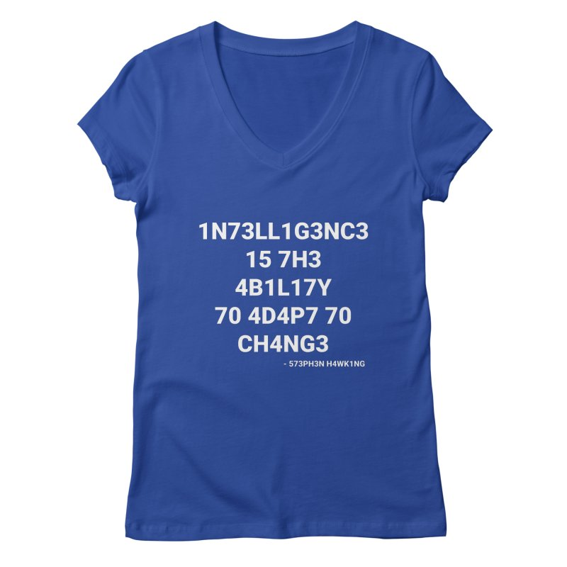 Stephen Hawking on Intelligence   by TheIToons Tshirt Shop