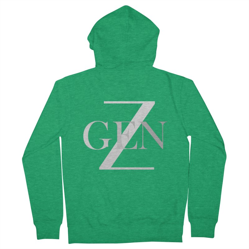 Generation Z Women's Zip-Up Hoody by TheIToons Tshirt Shop