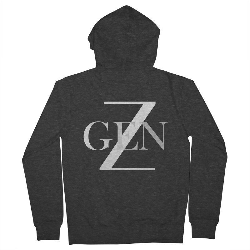Generation Z Men's Zip-Up Hoody by TheIToons Tshirt Shop