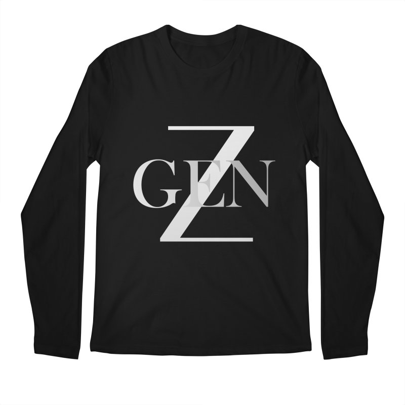 Generation Z Men's Longsleeve T-Shirt by TheIToons Tshirt Shop