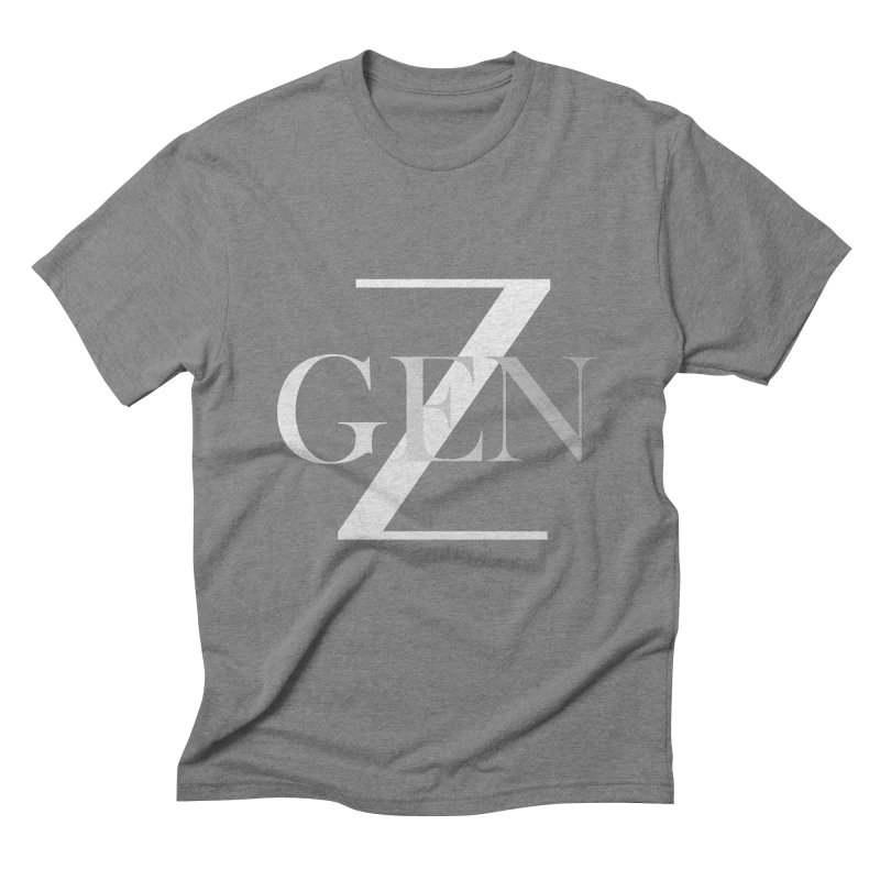 Generation Z Men's Triblend T-Shirt by TheIToons Tshirt Shop
