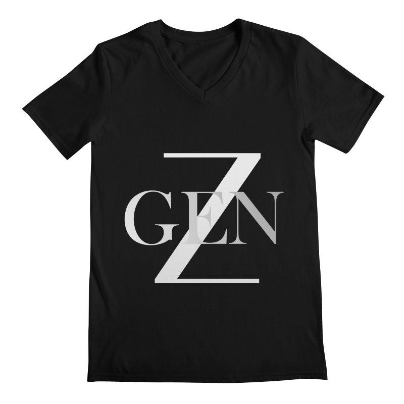 Generation Z Men's V-Neck by TheIToons Tshirt Shop