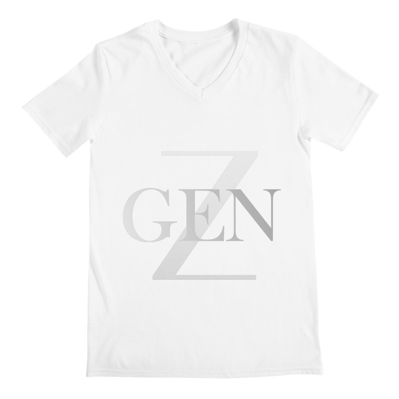 Generation Z Men's V-Neck by TheIToons Tshirt Shop