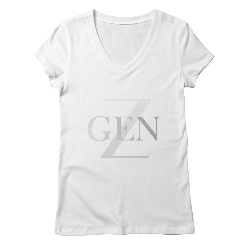 Generation Z Women's V-Neck by TheIToons Tshirt Shop