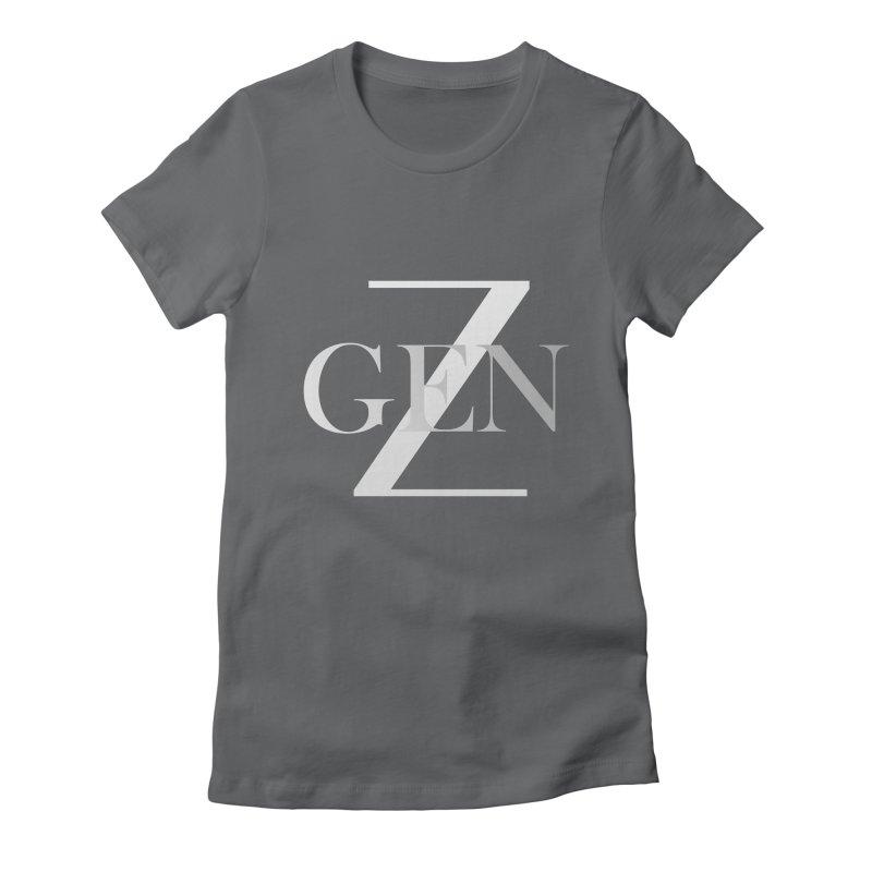 Generation Z Women's Fitted T-Shirt by TheIToons Tshirt Shop