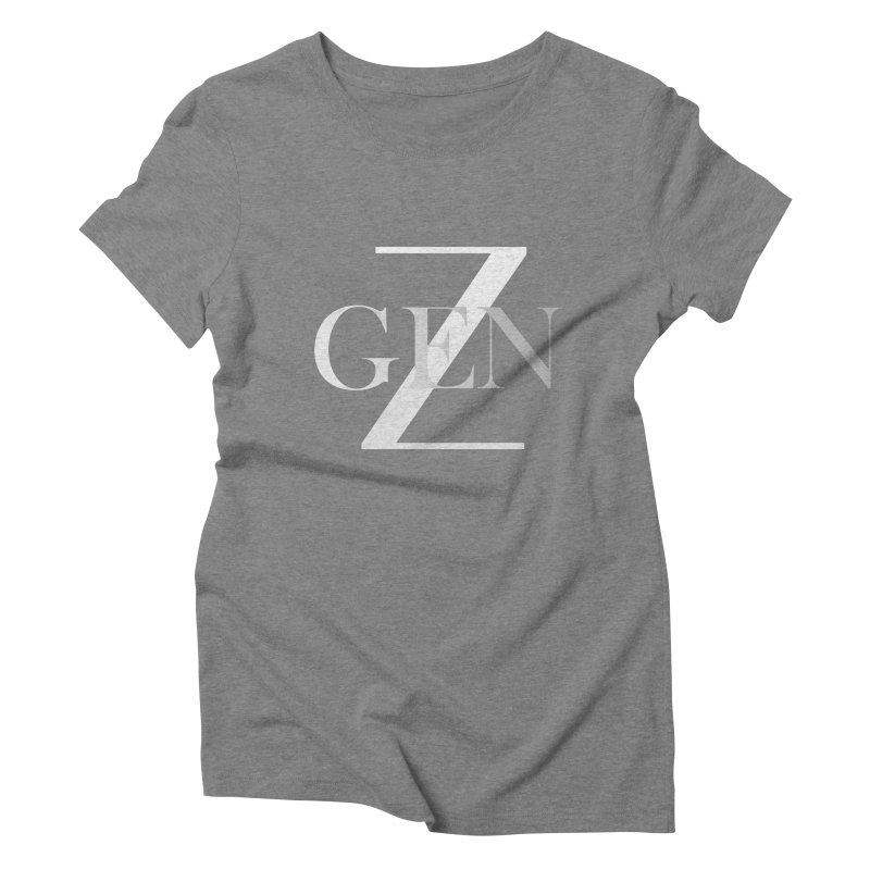 Generation Z Women's Triblend T-shirt by TheIToons Tshirt Shop