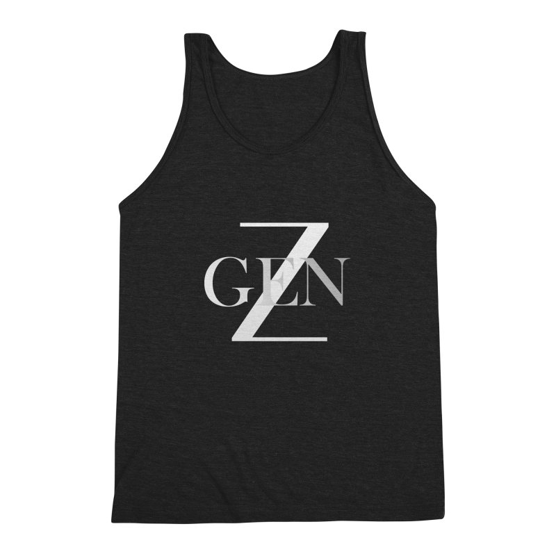 Generation Z Men's Triblend Tank by TheIToons Tshirt Shop
