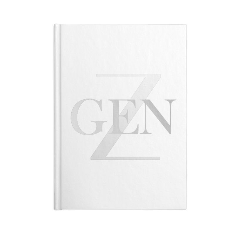 Generation Z Accessories Notebook by TheIToons Tshirt Shop