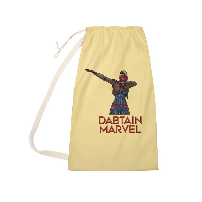 Daptain Marvel reporting for duty! Accessories Bag by Jarett Walen's Happy Fun Shop of Joy and Pretty Pi