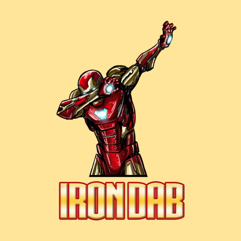 Tony Stank. I am Iron Dab! Women's Longsleeve T-Shirt by Jarett Walen's Happy Fun Shop of Joy and Pretty Pi